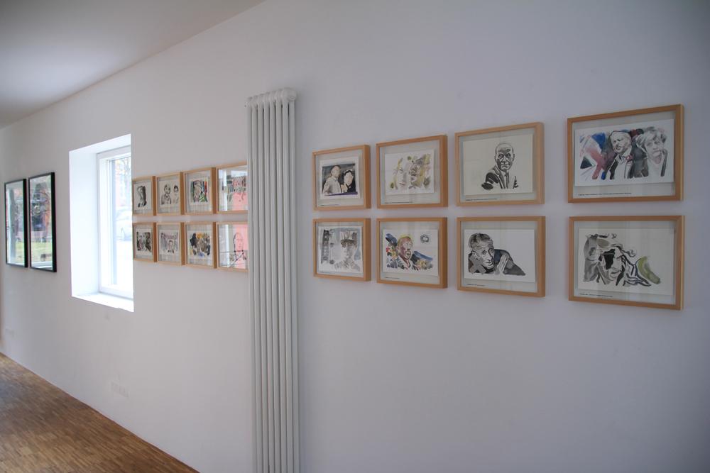 Titelbilder der SZ im grünen Turm