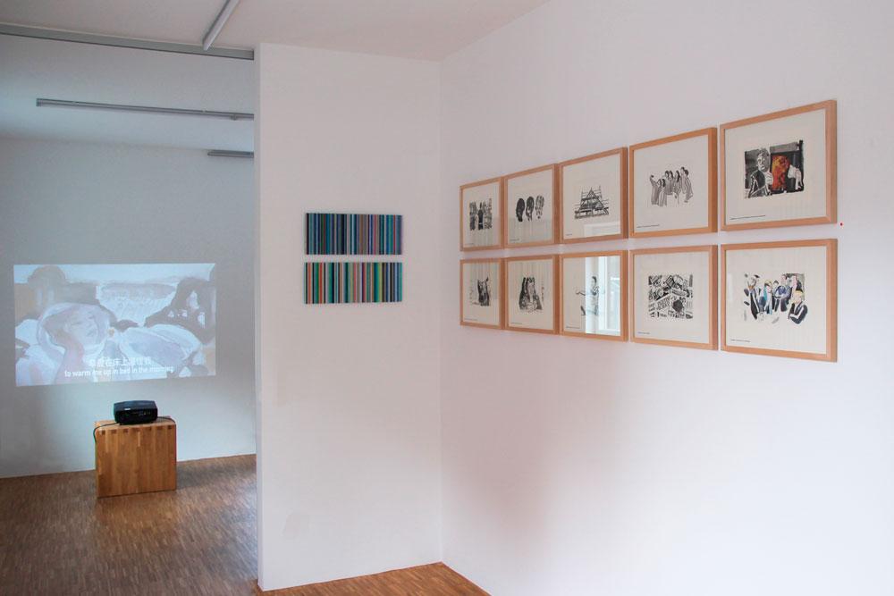 Zu gast bei Niklaus Fritschi im grünen Turm Titelbilder der SZ